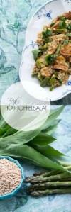 Bagt kartoffelsalat med ramsløg