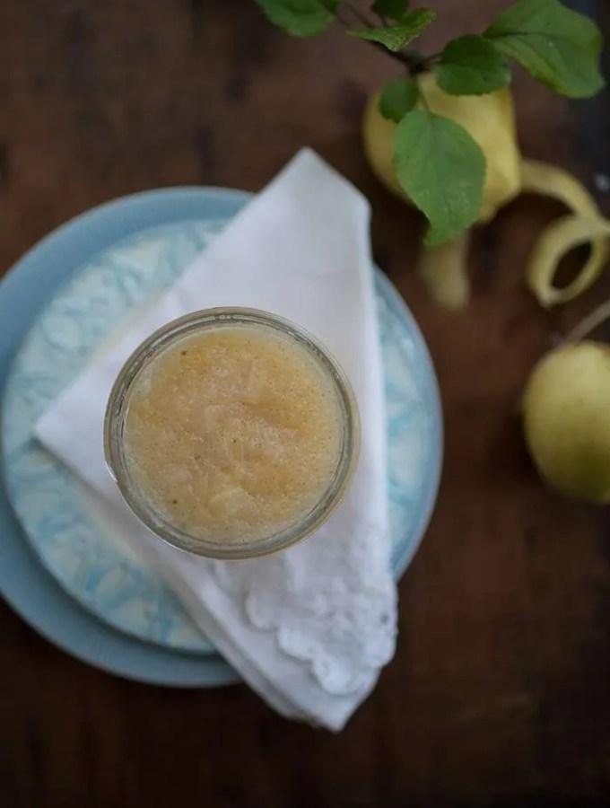 Hjemmelavet æblemos