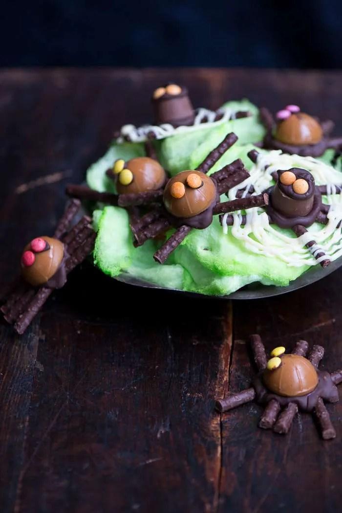 Chokoladeedderkopper opskrift fra Marinas Mad