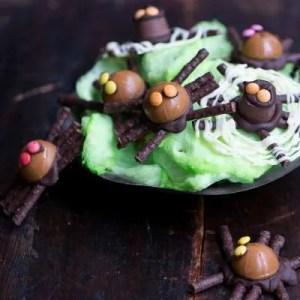 Marinas opskrift på chokolade edderkopper