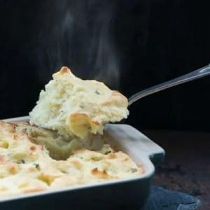 Marinas opskrift på kartoffelmos i ovnen