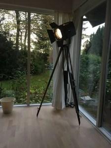 Hverdagsglimt med lampe