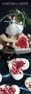 Marcipan hjerter er nem julekonfekt