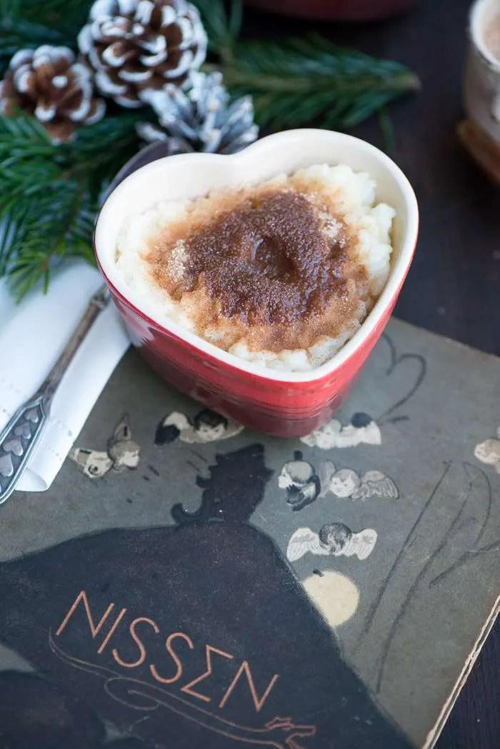 Opskrift på risengrød til jul