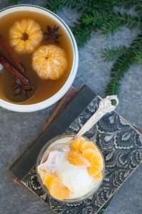 Opskrift på mandariner i julelage