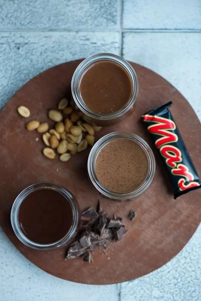 Tre slags hjemmelavet chokoladesovs. Opskrifter fra Marinas Mad