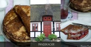 Opskrift på danske dessert pandekager.