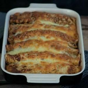 Opskrift på madpandekager med oksekød og hvidkål