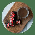 Opskrift på chokoladesovs med mars