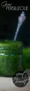Opskrift på grøn olie med persille
