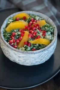 Opskrift på sund grønkålssalat fra Marinas Mad