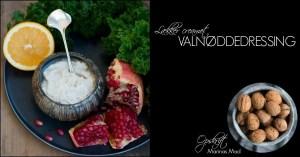Salatdressing med valnødder. En opskrift fra Marinas Mad