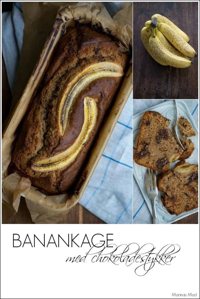 Opskrift på nem banankage