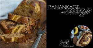 Opskrift på lækker banankage med chokolade fra Marinas Mad