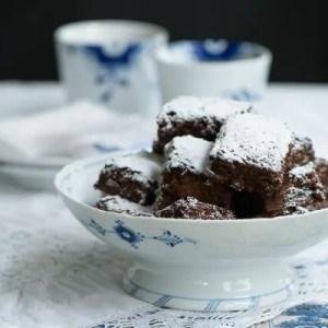 Marinas opskrift på lækker chokolade brownie