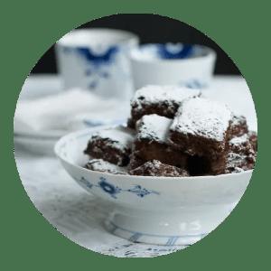 Verdens bedste chokolade brownie. Nem opskrift