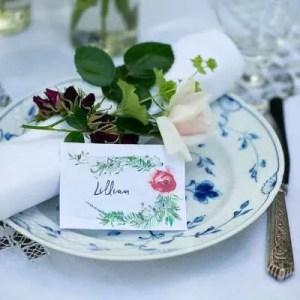 Udskriv gratis bordkort til Sankt Hans
