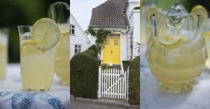 Opskrift på klassisk citron lemonade