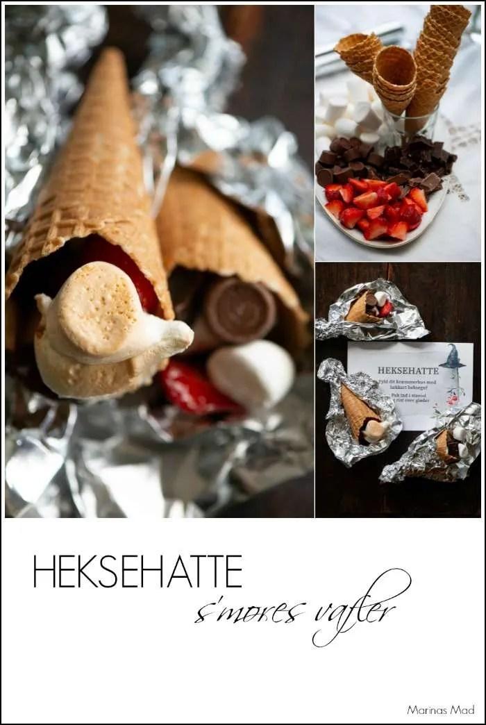 S'mores vafler en idé til grill dessert