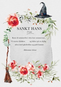Sankt Hans invitationen