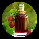 Opskrift på hjemmelavet jordbærsirup