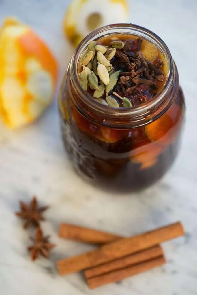 Opskrift på gløgg ekstrakt med jule krydderier