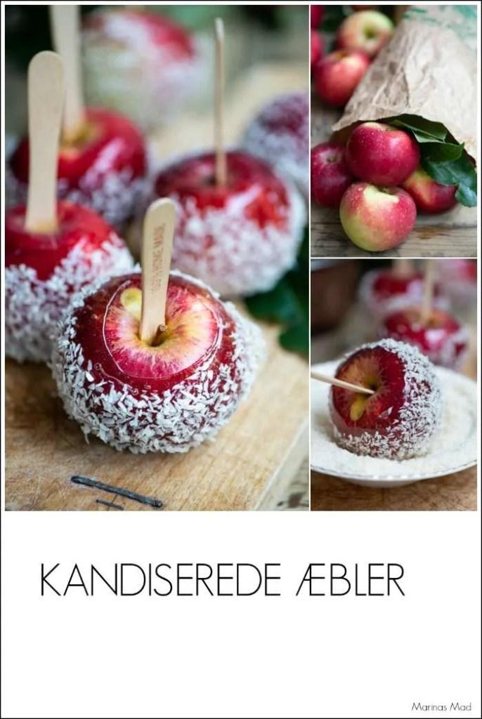 Nem opskrift på glaserede æbler fra Marinas Mad
