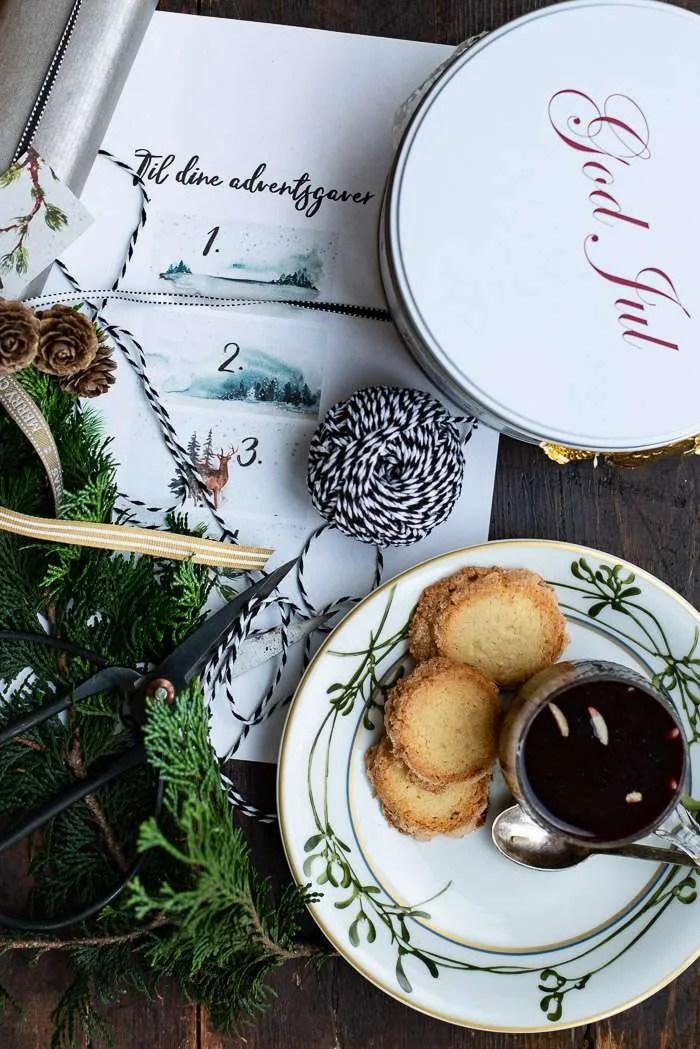 Håkons småkager. Opskrift fra Marinas Mad