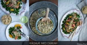 Kålsalat med dukkah super sund og lækker opskrift