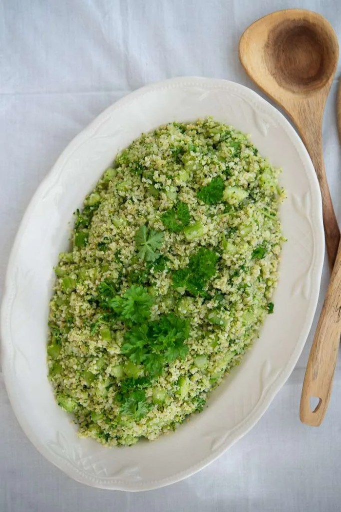 Opskrift på broccoli tabouleh