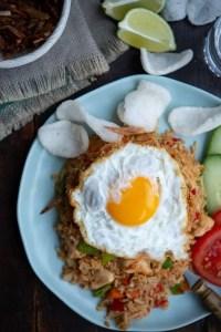 Nasi Goreng med æg