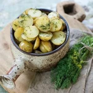 Opskrift på dild kartofler