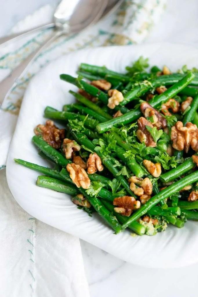 Nem salat med grønne bønner