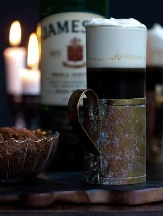 Opskrift på Irish coffee