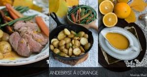 andebryst a la orange opskrift