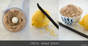 Citron vanilje sukker