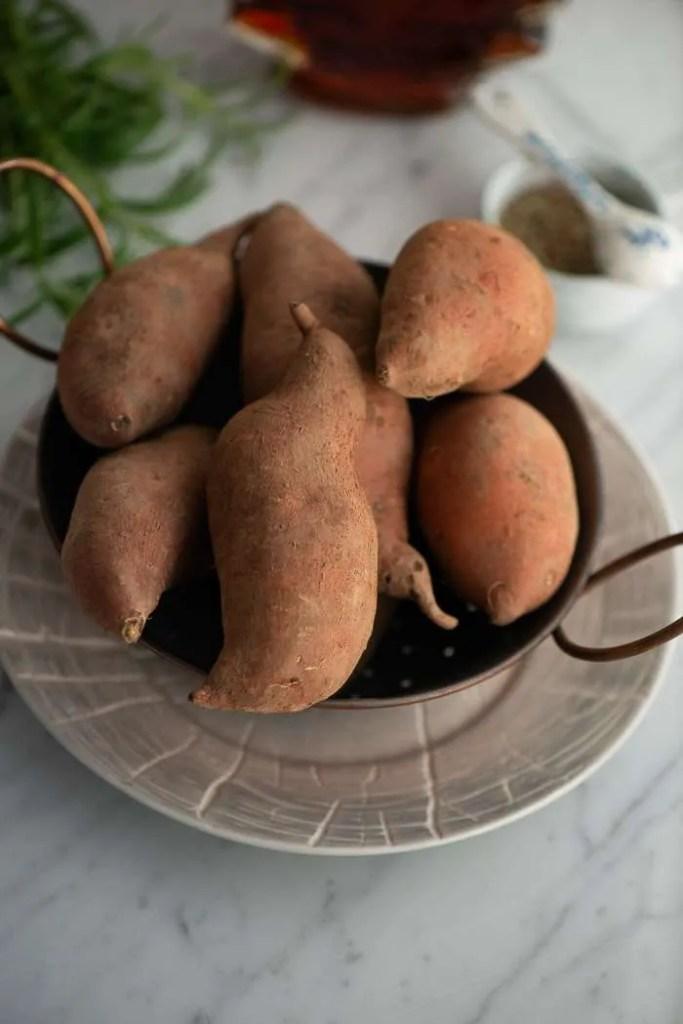 Søde kartofler til kylling