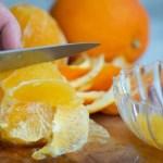 sådan laver du appelsin fileter
