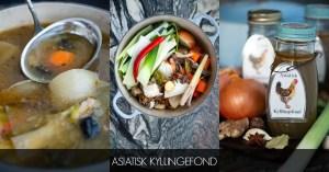 Hjemmelavet asiatisk kyllingefond