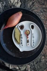 krydderier til syltelagen