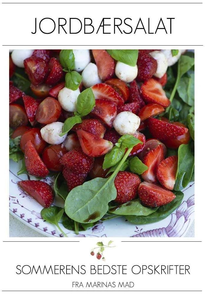 Opskrift på den bedste jordbærsalat