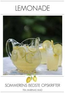 Opskrift på sommerens bedste lemonade