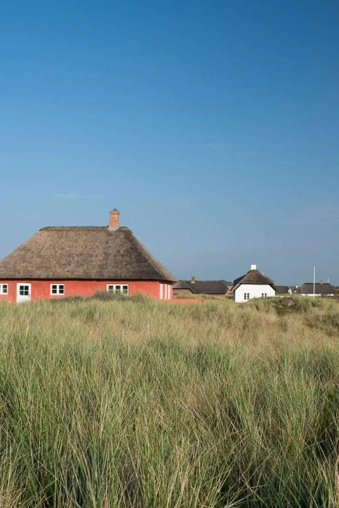 Sommerhuse på Vestkysten