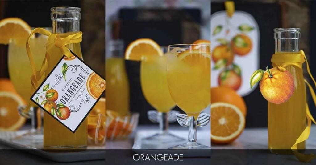 Opskrift på den bedste orangeade