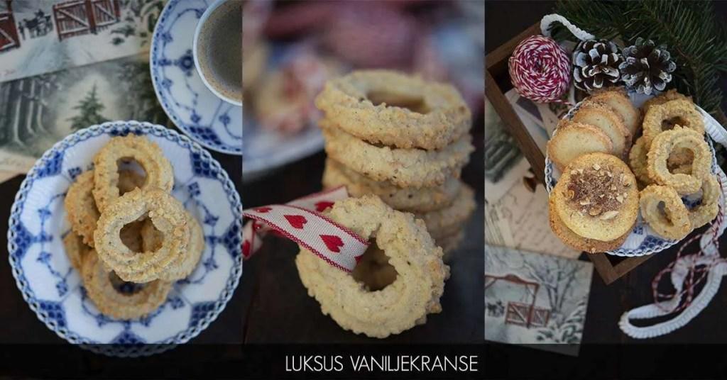 Opskrift på Danmarks bedste vaniljekranse