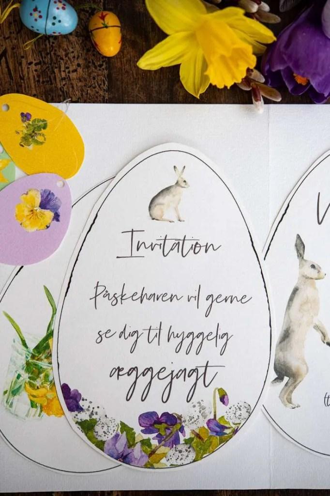 Invitation til æggejagt