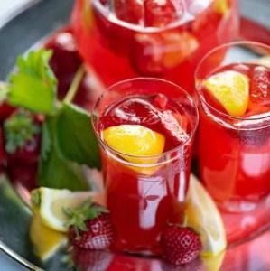 Opskrift på jordbær lemonade