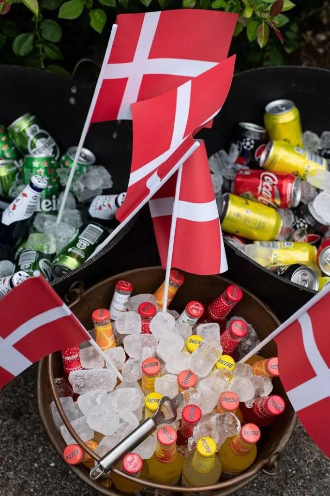 Drikkevarer til studenterne