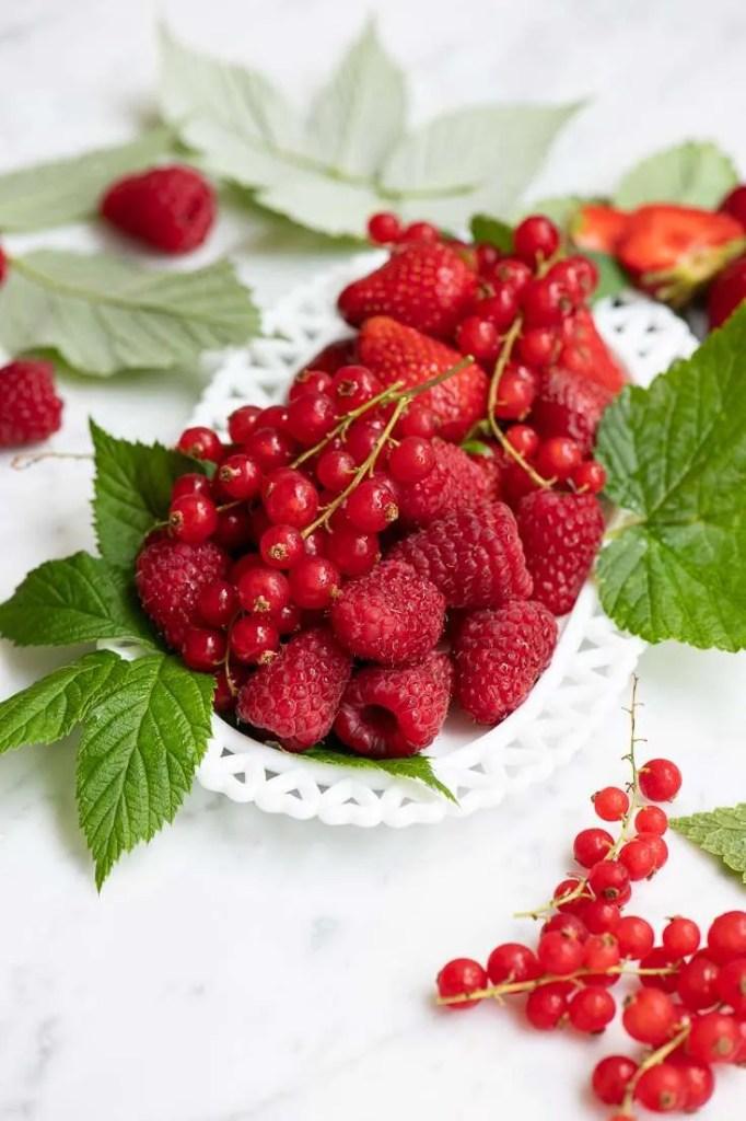 Masser af skønne friske bær
