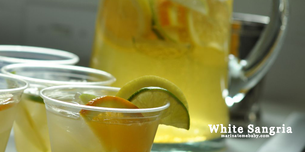 White Sangria – Leaded and a Non-Leaded Version
